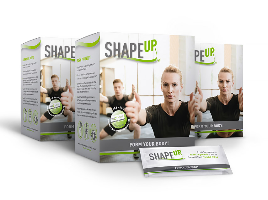 ShapeUp food supplement with collagen