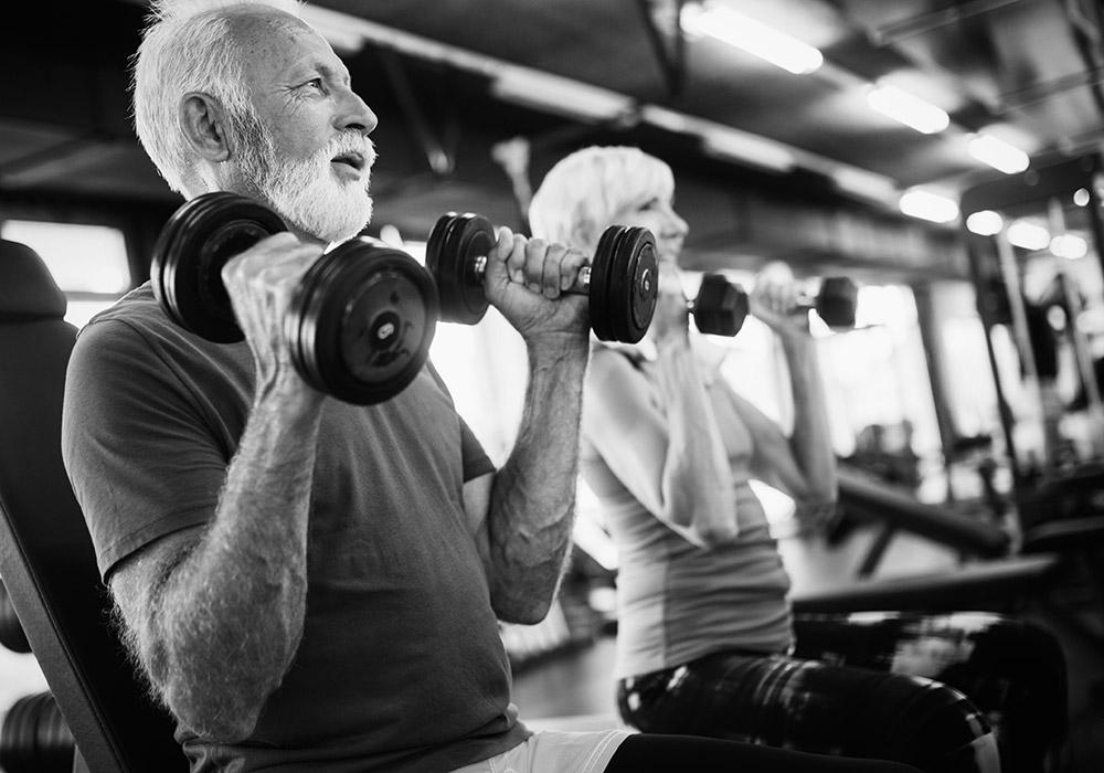 Hanteltraining für Muskelaufbau