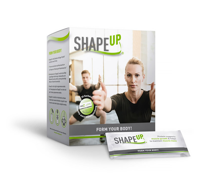 SHAPEUP - Form your bosy