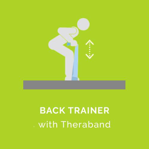 Brustpresse ohne Trainingsgerät