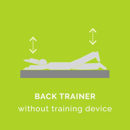 Rückentrainer ohne Trainingsgerät